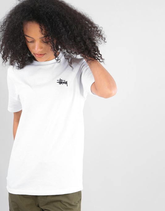 Stüssy Womens Basic Stüssy T-Shirt - White