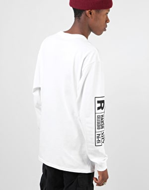 Girl Girl Films L/S T-Shirt - White