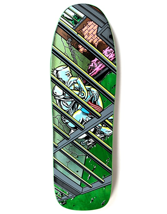 Prime Heritage Martinez Jailed Liberty OG Shape Skate Deck - 9.875""