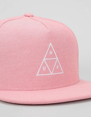 HUF Triple Triangle Snapback Cap - Nautical Red