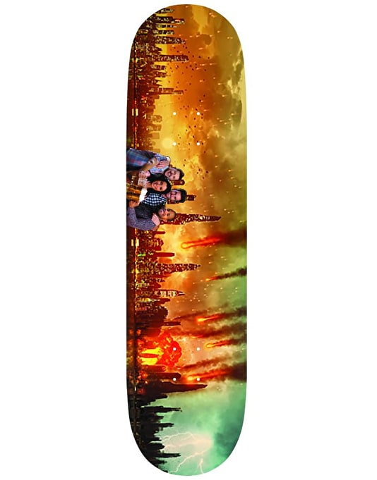 Alltimers Chilling Disasters Meteors Skateboard Deck - 8.25""