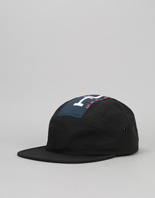 HUF Palisades Volley 5 Panel Cap - Black