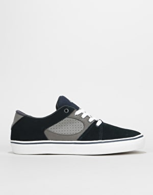 éS Square Three Skate Shoes - Navy/Grey