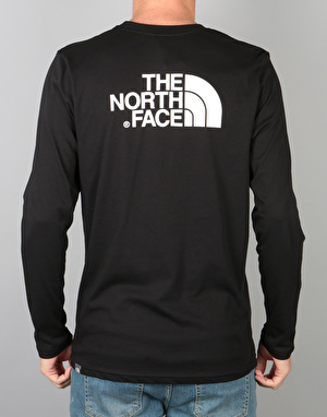 The North Face L/S Easy T-Shirt - TNF Black