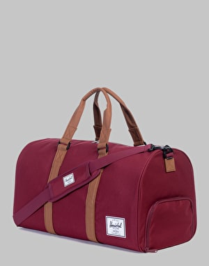 Herschel Supply Co. Novel Duffel Bag - Windsor Wine/Tan