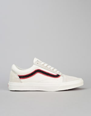 Vans Old Skool Skate Shoes - (MLX) Patch/Marshmallow/Black