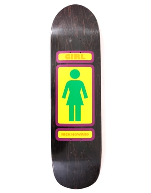 Girl Howard '93 Til 'Powerslide' Skateboard Deck - 8.5