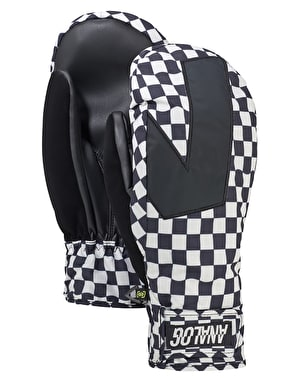 Analog Gentry 2018 Snowboard Mitts - Stout White Speed Check