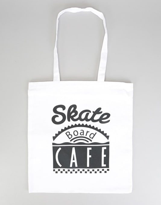 Skateboard Café Diner Tote Bag - Natural