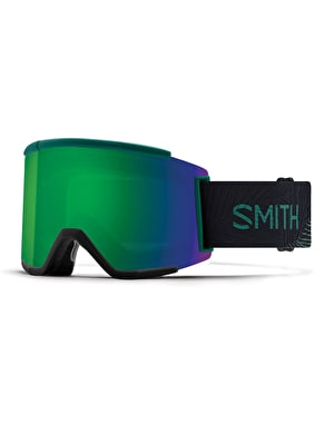 Smith Squad XL 2018 Snowboard Goggles - Louif Collection/Sun Green