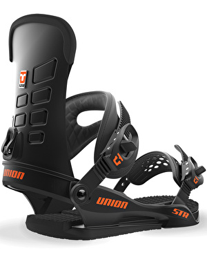 Union STR 2018 Snowboard Bindings - Black