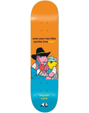 Enjoi Thaynan My Little Pony the 3rd Impact Light Pro Deck - 8.25