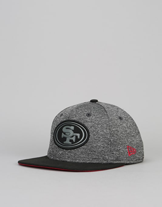 New Era 9Fifty San Francisco 49ers Grey Collection Snapback Cap - Grey  e3e641f2209