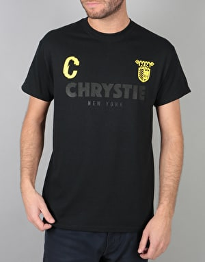 Chrystie x CSC T-Shirt - Black/Yellow