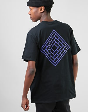 The National Skateboard Co. Love T-Shirt - Black
