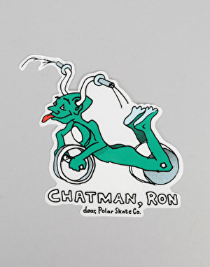 Polar x Dear x Ron Chatman Ron Chatman Pro Sticker