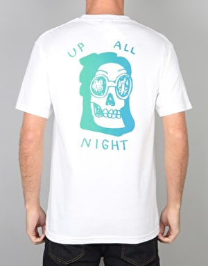 The Quiet Life Up All Night T-Shirt - White
