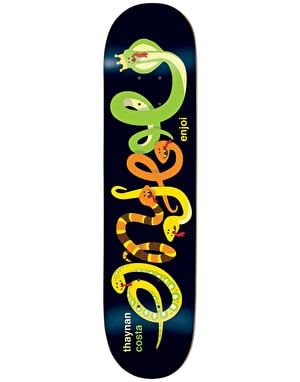 Enjoi Thaynan Intertwined Impact Light Skateboard Deck - 8.25