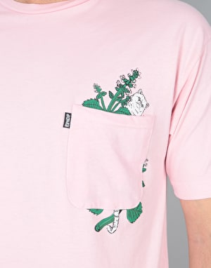 RIPNDIP Botanical T-Shirt - Blush