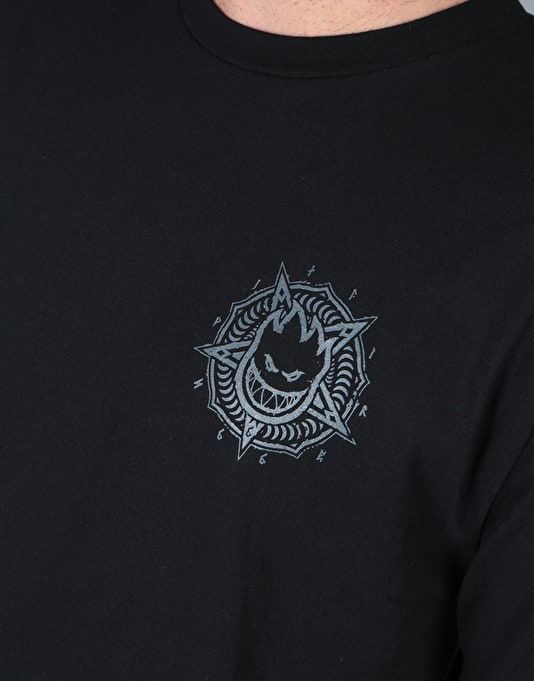 Spitfire Petaburn Double T-Shirt - Black/Grey