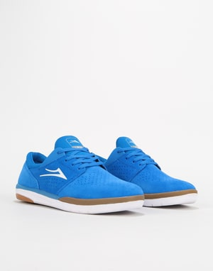 Lakai Fremont Skate Shoes - Royal/Gum Suede