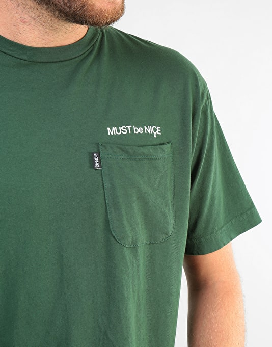 RIPNDIP Nermus T-Shirt - Hunter Green
