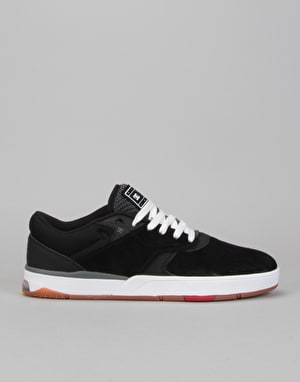 DC Tiago S Skate Shoes - Black/White/Red