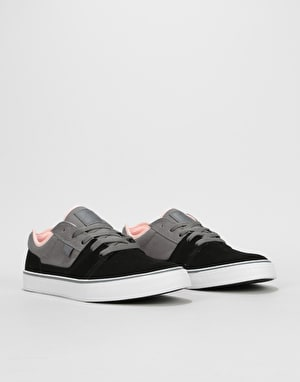 DC Tonik Skate Shoes - Grey/Pink