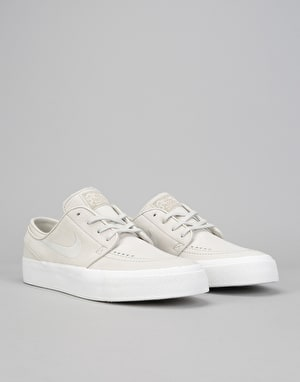 Nike SB Zoom Janoski HT Decon Skate Shoes - Light Bone/Summit White