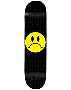 Enjoi Frowny Face Skateboard Deck - 8.375