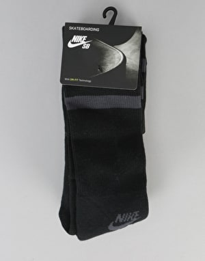 Nike SB Crew Socks 3 Pack - Black/Anthracite