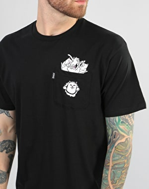 RIPNDIP Stuffed 'Nermamaniac' T-Shirt - Black
