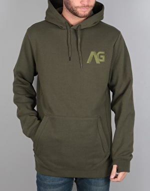 Analog Crux Pullover Hoodie - Forest Night