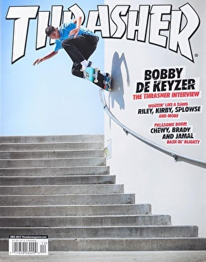 Thrasher Magazine Issue 449 December 2017