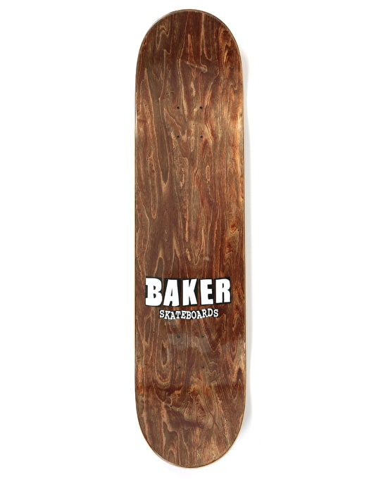 Baker Rowan Brand Name Rose Gold Skateboard Deck - 7.75""