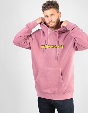 The Hundreds x Garfield Bar Pullover Hoodie - Pigment Maroon