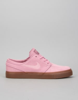 Nike SB Zoom Stefan Janoski Skate Shoes - Elemental Pink/Sequoia