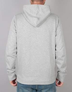 WeSC Inlay Icon Pullover Hoodie - Grey Melange