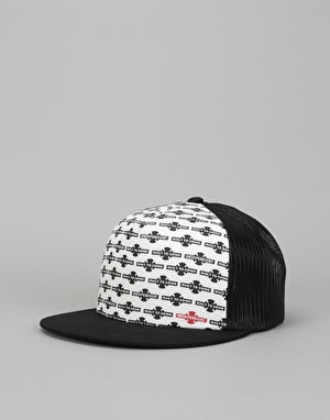Independent OG Pattern Snapback Cap - Black