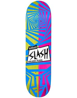 Deathwish Slash Stoked Skateboard Deck - 8.25