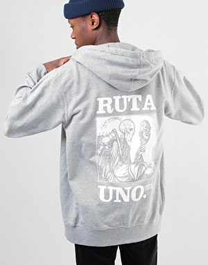 Original Ruta Uno Zip Hoodie - Heather Grey