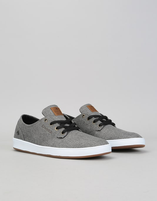 Emerica The Romero Laced SMU Skate Shoes - Grey/Brown