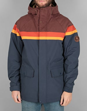 Burton Docket 2018 Snowboard Jacket - Chestnut Cord/Clay/Golden Oak