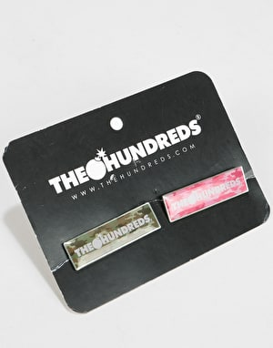 The Hundreds Corner Pins Set - Multi Camo