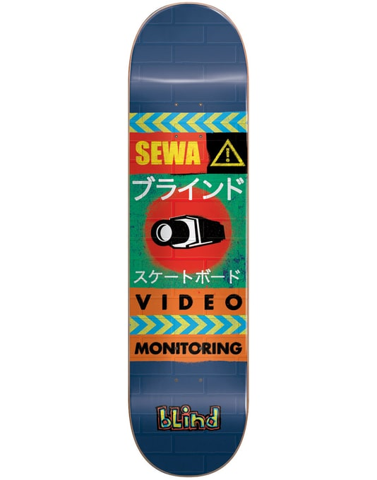 Blind Sewa Surveillance Skateboard Deck - 7.75""