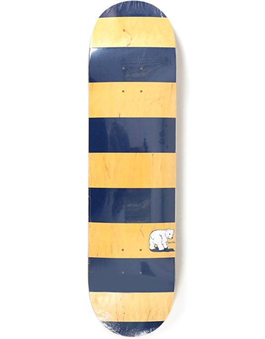 Polar x Dear x Ron Chatman Block Stripe Skateboard Deck - 8.375""