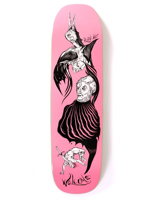 Welcome Lay Isobel on Stonecipher Skateboard Deck - 8.6""