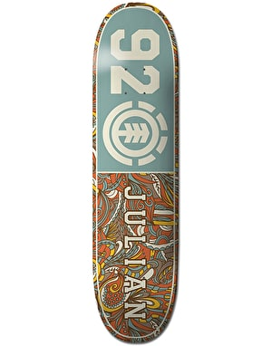 Element Julian 92 Floral Skateboard Deck - 8.38