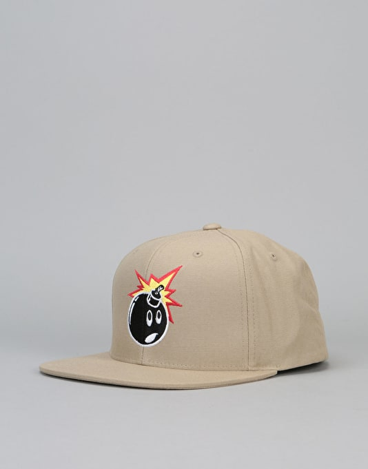The Hundreds Adam Snapback Cap - Khaki