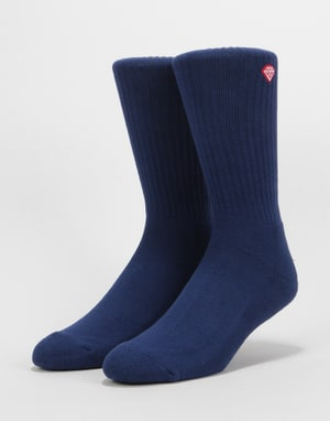 Diamond Supply Co. Brilliance High Top Socks - Navy
